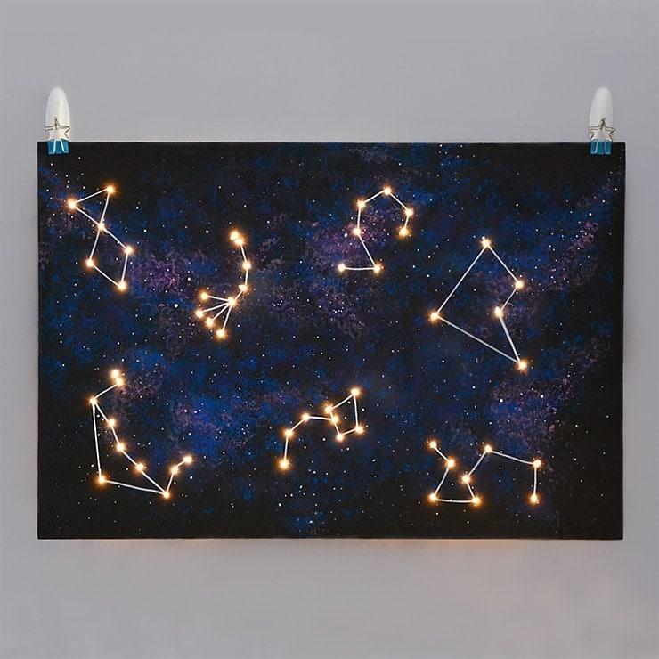 Galaxy Board Web - Picnic Under the Stars #diydatenight