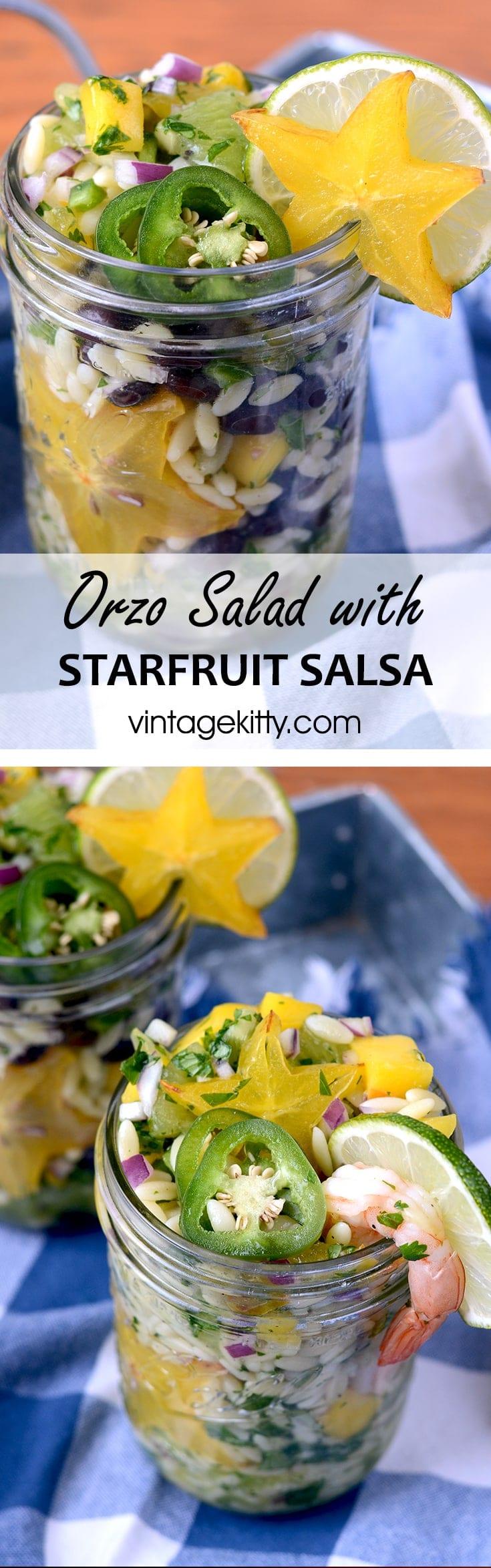 Orzo Salad Pin - Picnic Under the Stars #diydatenight