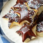 """Puff Pastry Donuts Web 150x150 - Galaxy Puff Pastry """"Donuts"""" with </br>Chocolate Starglazing"""