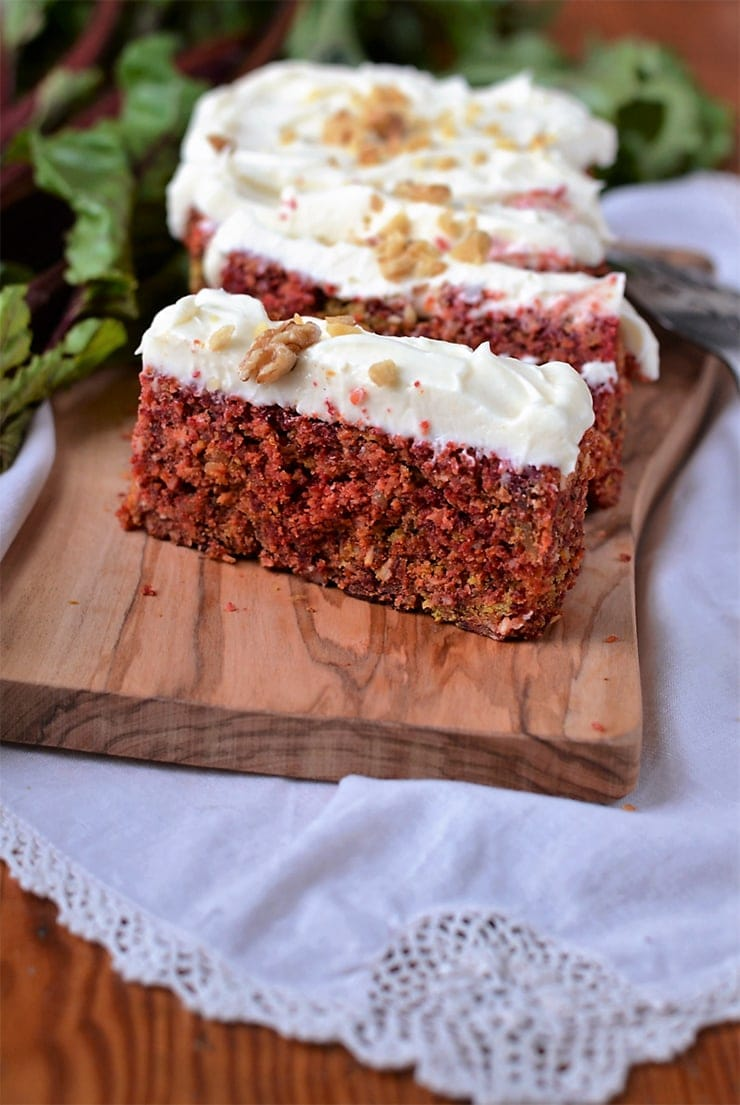 Rustic Beet Cake Recipe 3 - Rustic Beet Cake with Cream Cheese Icing