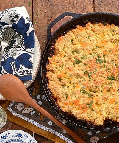Vegaetarian BBQ Lentil Bake Horizontal Web 400x480 - BBQ Lentil Bake