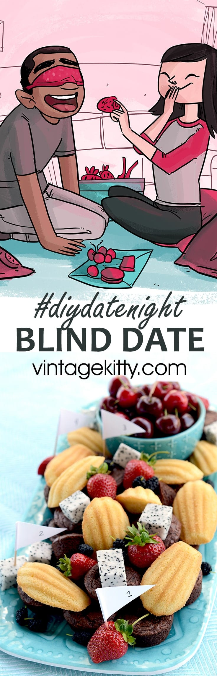 Blind Date Pin - Blind Date #diydatenight