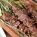 Grilled Rosemary Lamb Skewers with Himalayan Pink Salt