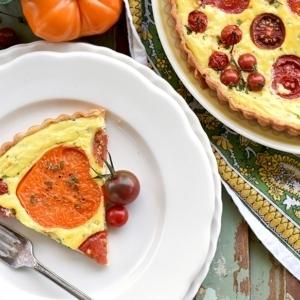 Heirloom Tomato Tart 1246 Slider 300x300 - Heirloom Tomato Tart