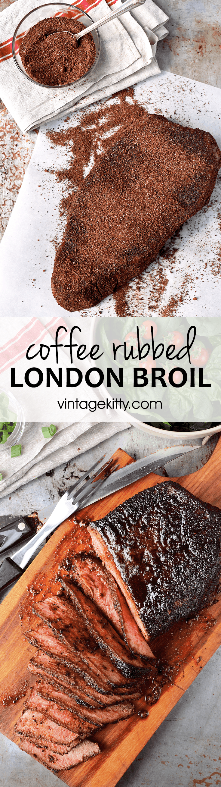 No marinating required! Cheap eats meets gourmet dry rub in this easy London broil #recipe. It cooks in under 30 minutes and is stellar as a dinner main dish.
