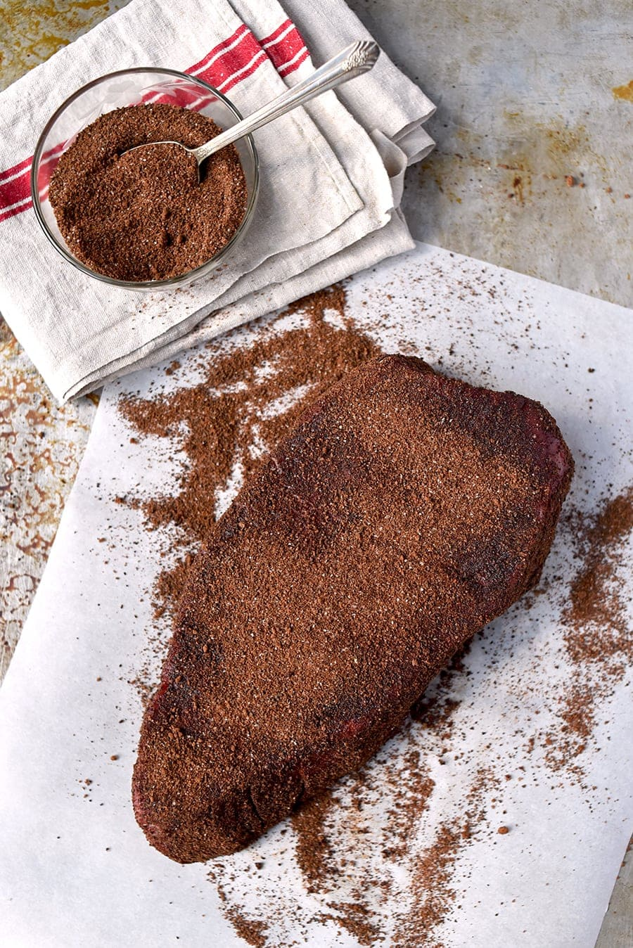 London Broil 4042 Web - Coffee Rubbed London Broil Recipe