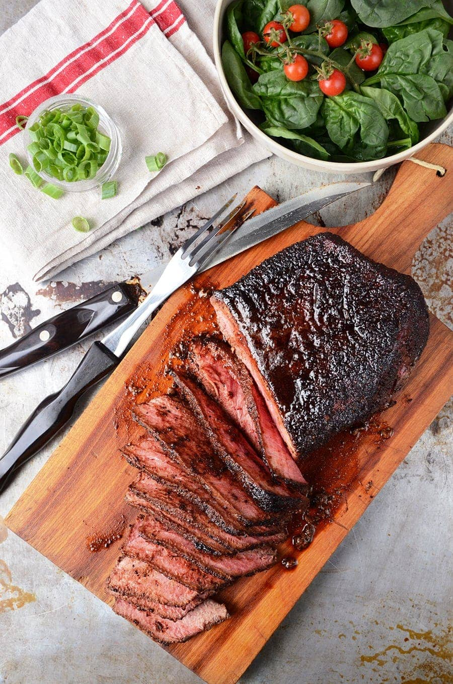 London Broil 4598 Web - Coffee Rubbed London Broil Recipe
