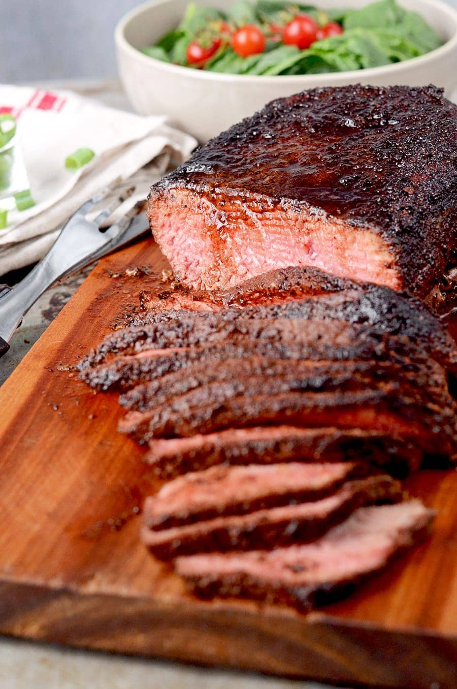 London Broil 4602 Web - Coffee Rubbed London Broil Recipe