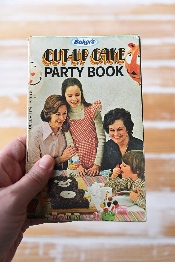 Baker's Cut-Up Cake Party Book circa 1973