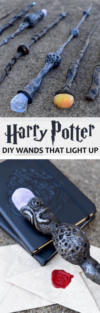 DIY HARRY POTTER WANDS PIN 328x1024 - DIY Harry Potter Wands