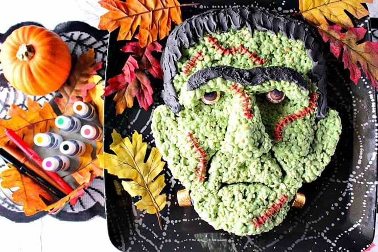 Frankenstein project final 7 - Ghoulishly Good! </br>Halloween Party Recipes and Ideas