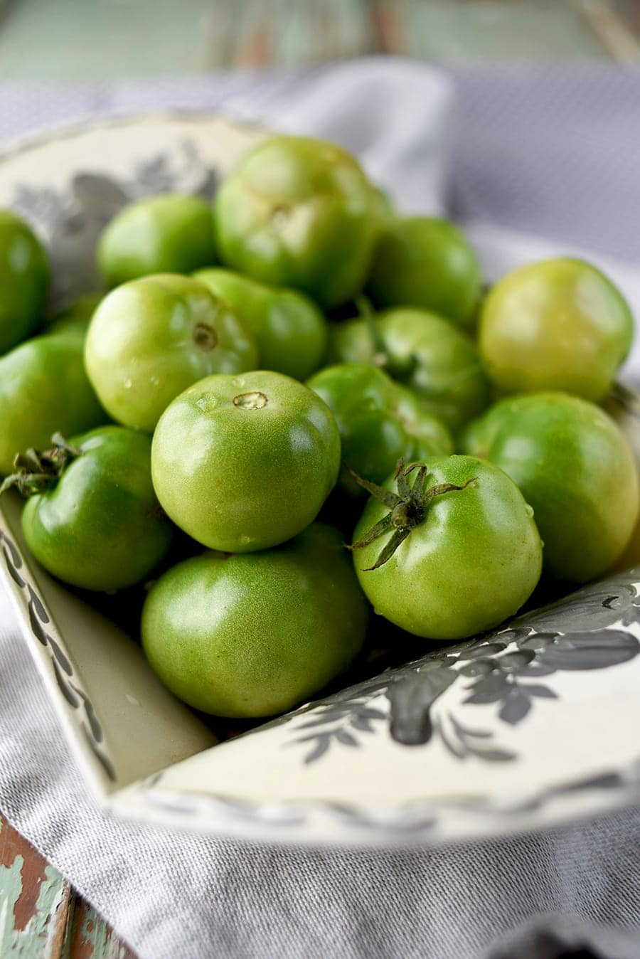 Green Tomatoes 5081 Web - Fried Green Tomatoes </br>with Whipped Herb Chevre