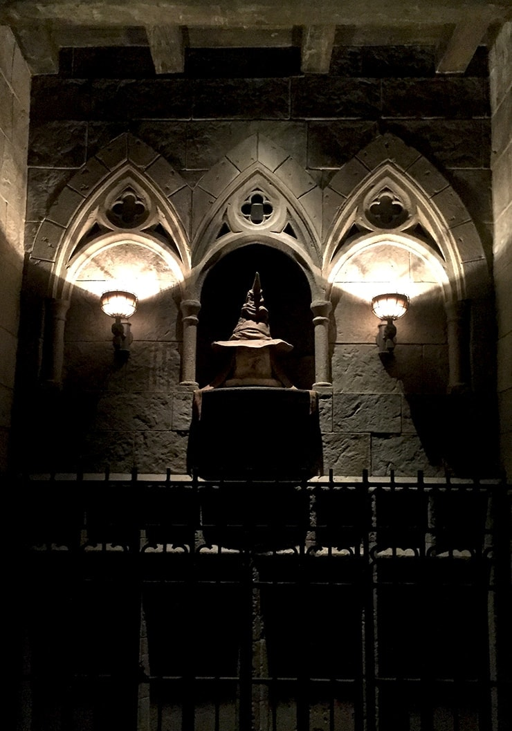 The Sorting Hat at Universal Studios Hollywood