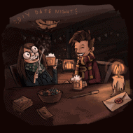 Harry Potter #diydatenight