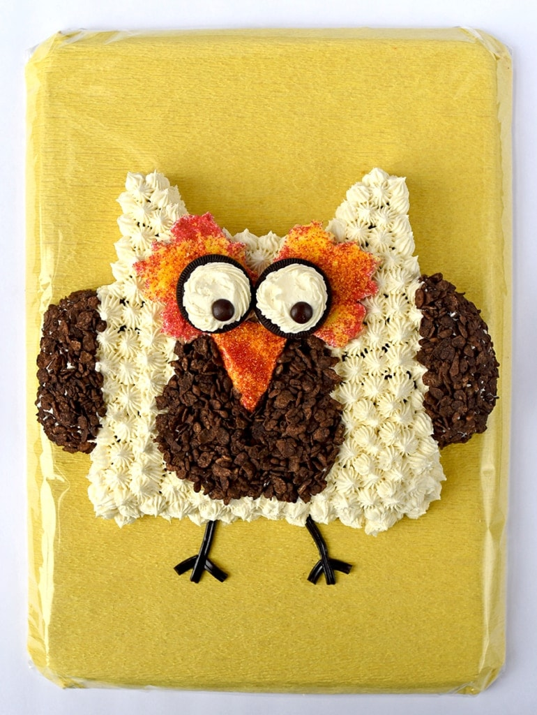 Owl Cake 4501 Web 770x1024 - Ghoulishly Good! </br>Halloween Party Recipes and Ideas