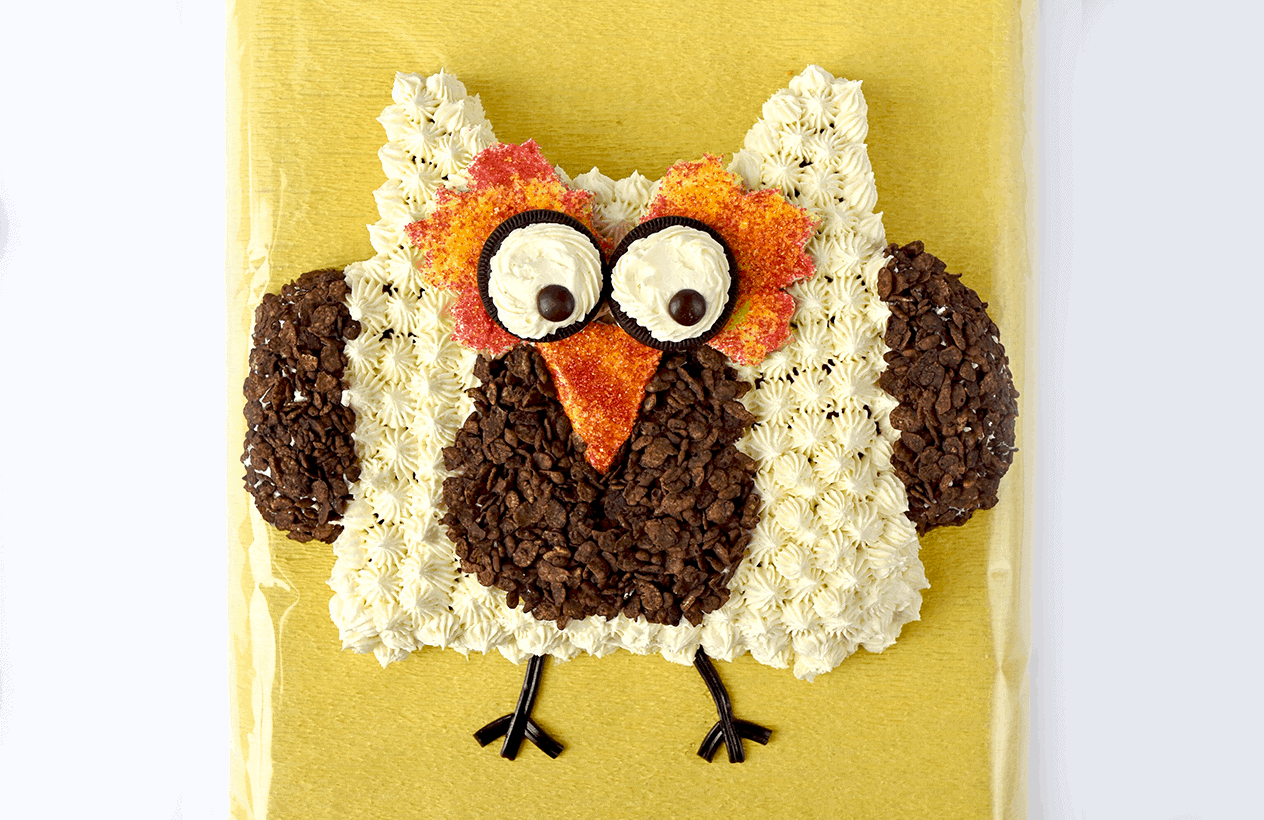 Owl Cut Up Cake 4501 Slider - Alcoholic Butterbeer Recipe