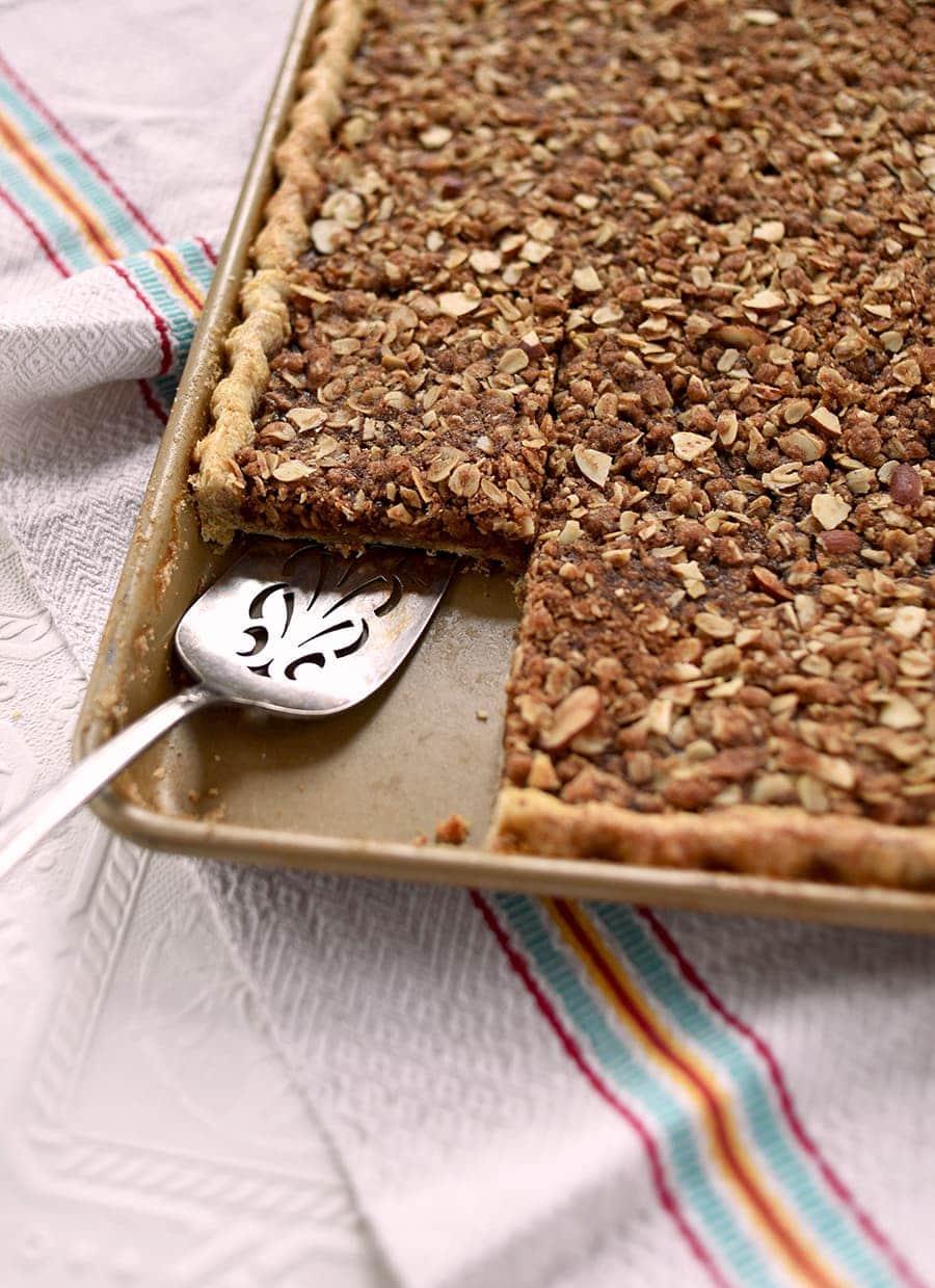 Apple Butter Crumb Slab Pie 5848 Web - Apple Butter Crumb Slab Pie