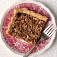 Apple Butter Crumb Slab Pie