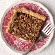 Apple Butter Crumb Slab Pie
