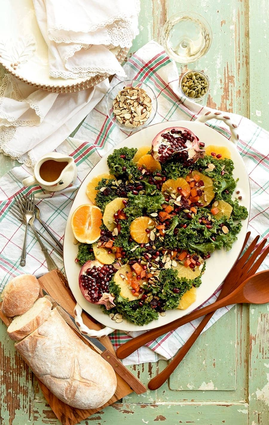 Fall Harvest Kale Salad 6000 Web - Fall Harvest Kale Salad