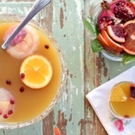 Citrus Whiskey Tea Punch
