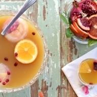 Citrus Whiskey Tea Punch