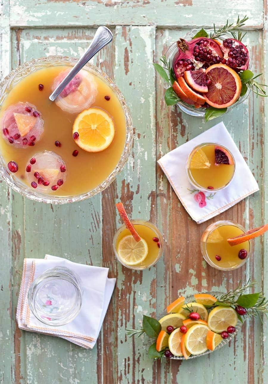 Tea Punch 6418 Web - Citrus Whiskey Tea Punch