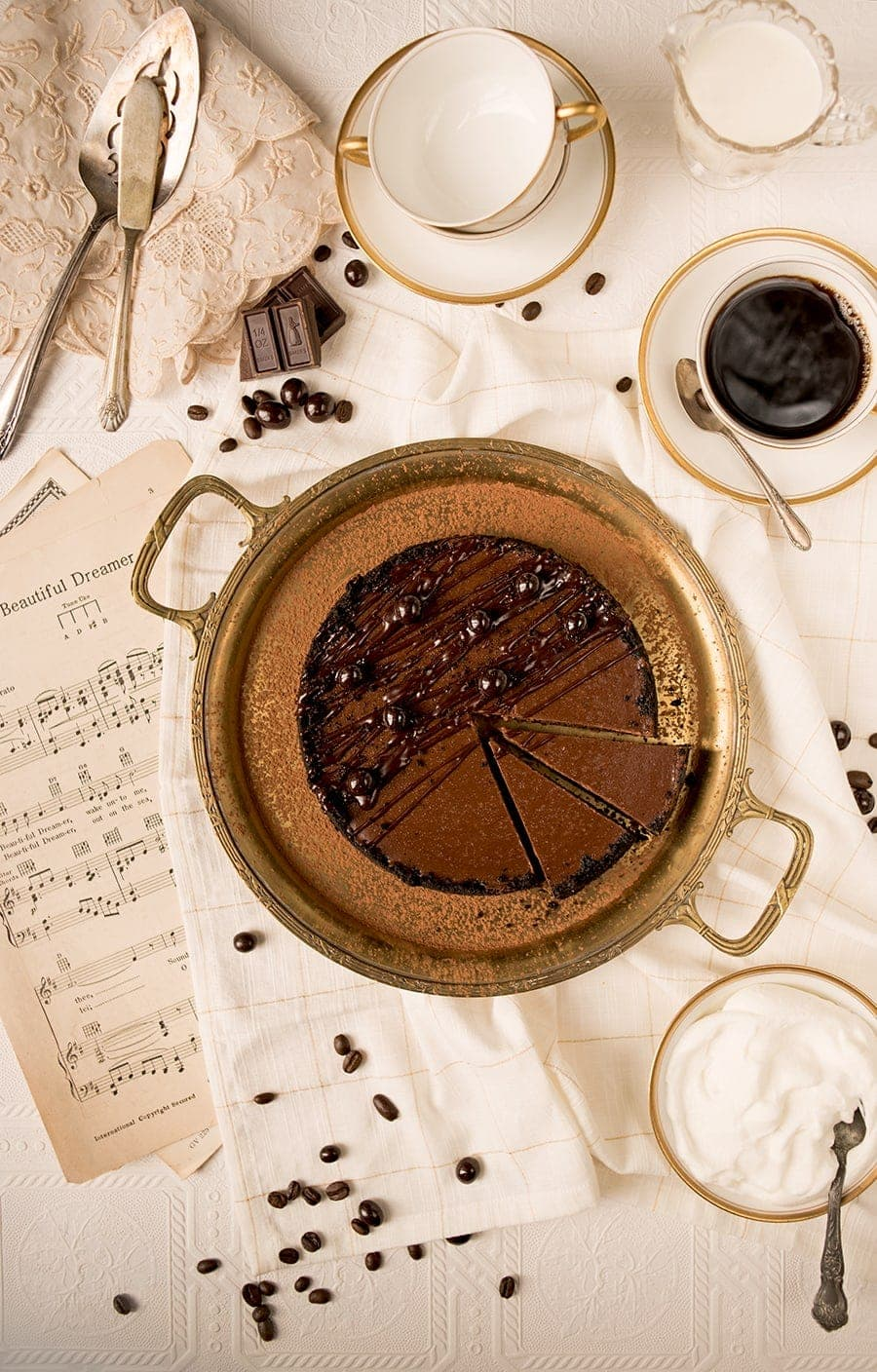Instamt Pot Chocolate Espresso Cheesecake 8712 Web - Instant Pot Chocolate Cheesecake with Espresso Beans and Oreo Crust