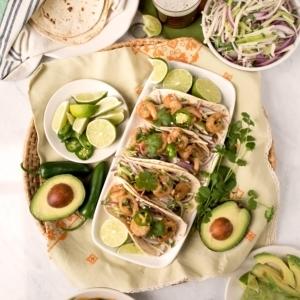 Tequila Shrimp Tacos 9102 300x300 - Tequila Shrimp Tacos with Jicama Cucumber Slaw