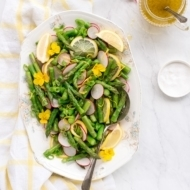 Asparagus Salad with Lemon Vinaigrette