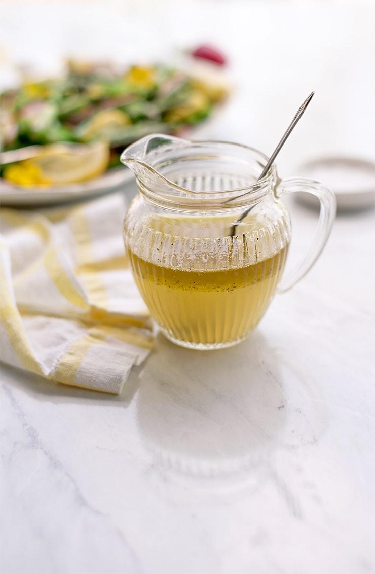 Asparagus Salad 1092 Web - Asparagus Salad with Lemon Vinaigrette