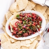 Easy Cherry Tomato Pico de Gallo