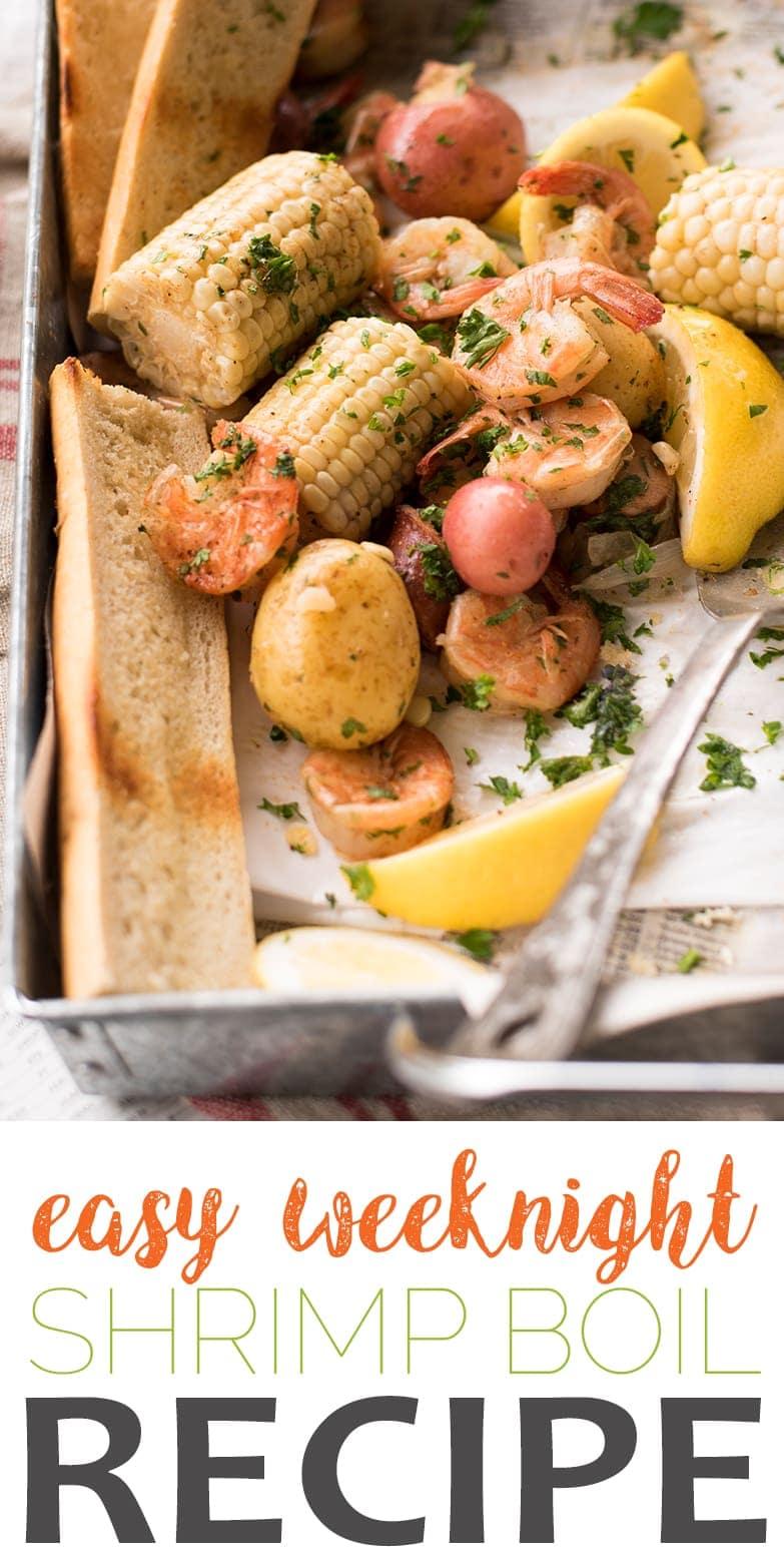 Weeknight Shrimp Boil - Easy Weeknight Shrimp Boil