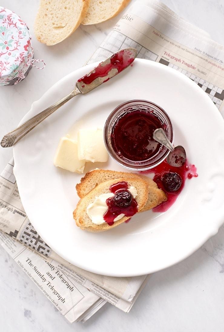Cherry Jam 3180 Web - Sweet Cherry Jam with Merlot Wine