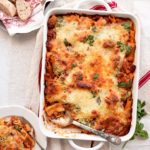Baked Rigatoni 5301 Square 150x150 - Baked Rigatoni with Ricotta, Herbs and Meat Sauce #myvintagerecipe