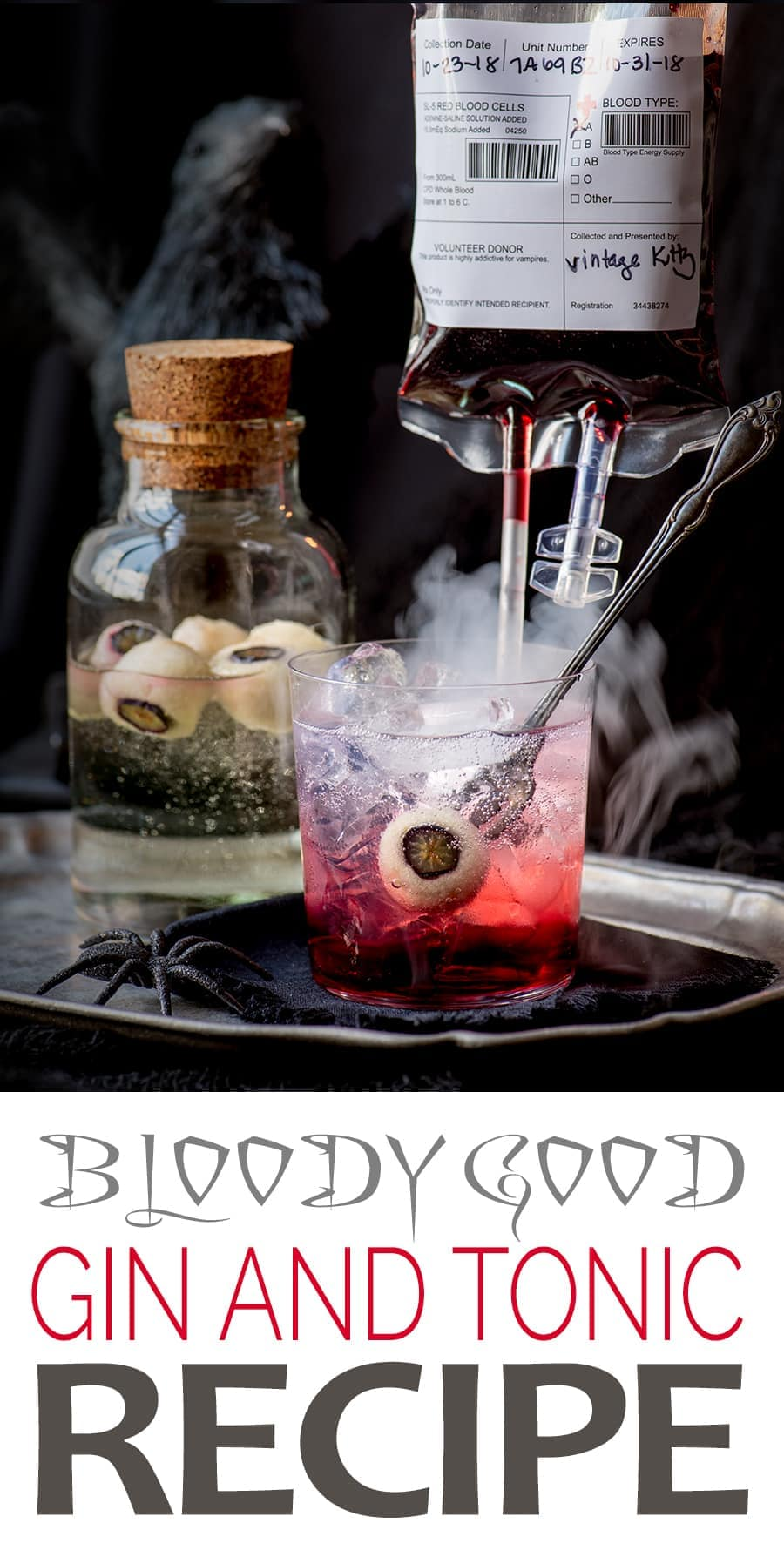 Bloody Good Gin and Tonic Pin 2 - A Bloody Good Gin and Tonic