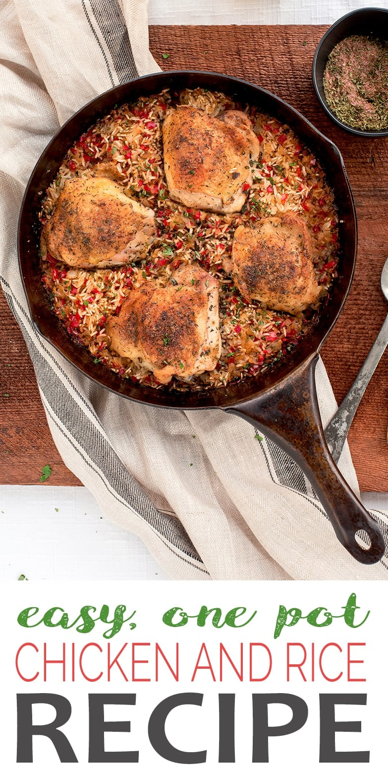 One Pot Chicken and Rice Pin - One Pot Chicken and Rice