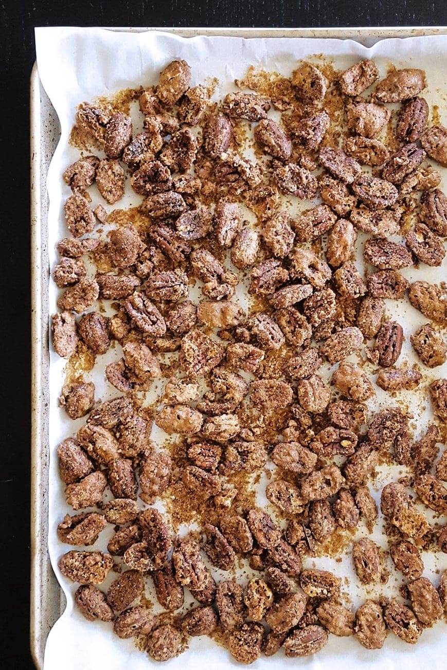 20171018 Candied Pecans Tray 1a lo 2 1 - Mouthwatering Thanksgiving Menu Ideas