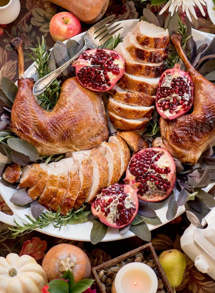 Apple Cider Brined Turkey 6296 Web Cropped - Mouthwatering Thanksgiving Menu Ideas