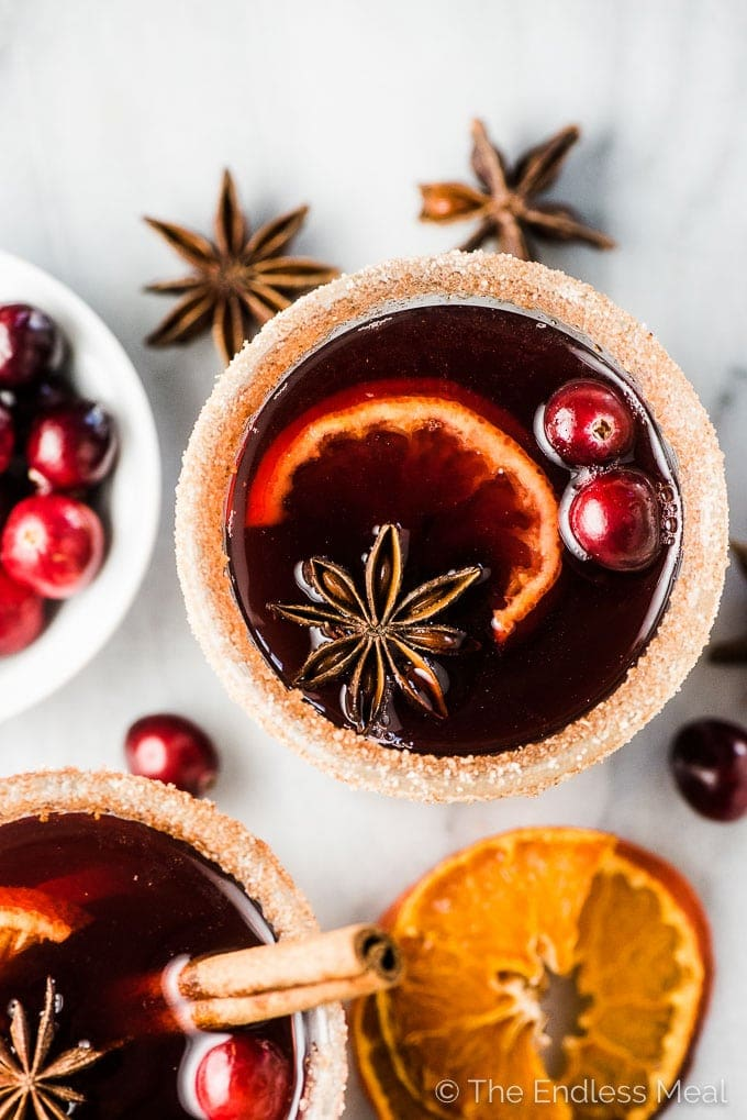 Cranberry Hot Toddy 7 - Mouthwatering Thanksgiving Menu Ideas