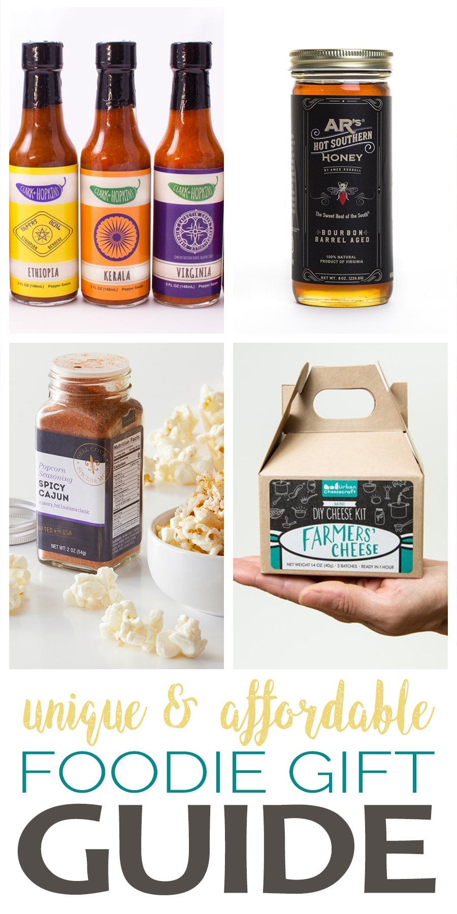 Gift Guide - Unique Foodie Gifts Made in America