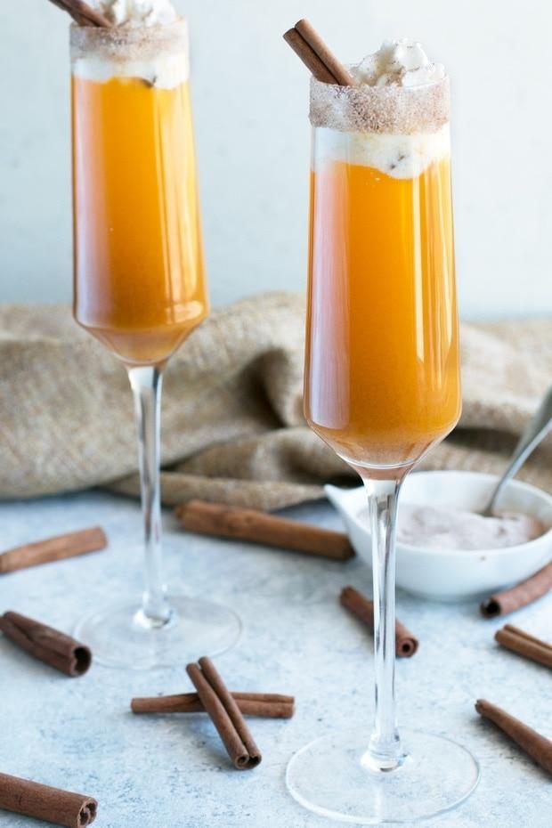 Pumpkin Pie Mimosa Image 5 - Mouthwatering Thanksgiving Menu Ideas