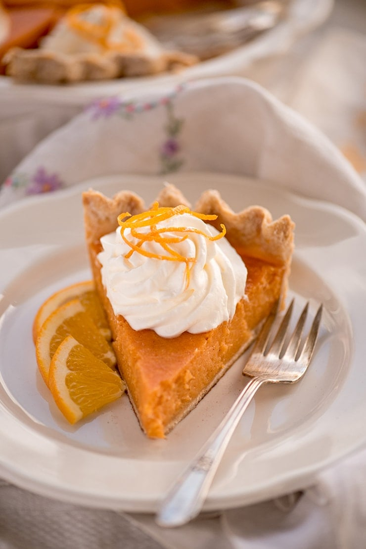 Sweet Potato Pie 6716 Web - Buttermilk Sweet Potato Pie