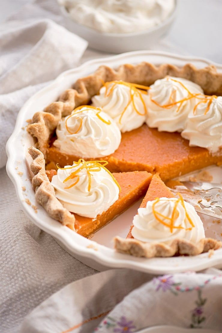 Sweet Potato Pie 6724 Web - Buttermilk Sweet Potato Pie