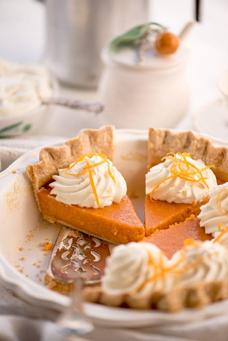 Sweet Potato Pie 6737 Web - Buttermilk Sweet Potato Pie