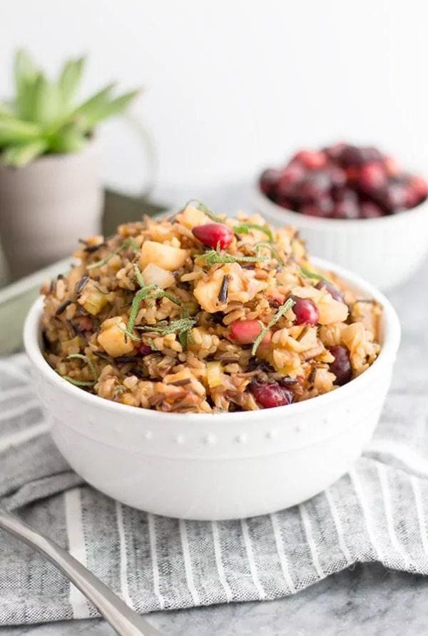 Wild Rice Stuffing - Mouthwatering Thanksgiving Menu Ideas