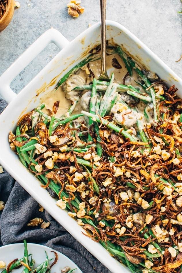 green bean casserole 37 of 50 632x948 - Mouthwatering Thanksgiving Menu Ideas