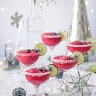 Frozen Cranberry Daiquiris
