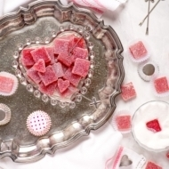 Strawberry Pate de Fruit {Fruit Jelly Candy}