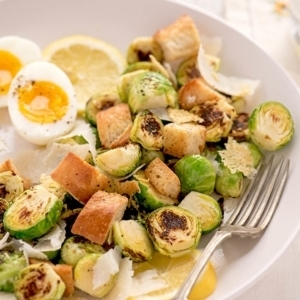 Brussels Sprouts Caesar Salad 8008 Web 300x300 - Charred Brussels Sprouts Caesar Salad
